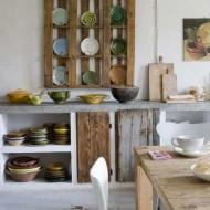 meble z drewna z odzysku projekt Katrin Arens