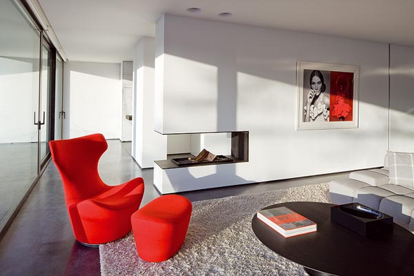 Pufy w salonie dawniej a dzi for Imagenes de arquitectura minimalista