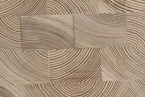 Podłoga drewniana z bruku