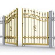 Brama dwuskrzydłowa