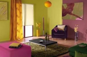 Kolorowe wnętrze