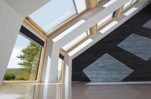 Okna dachowe - oświetlenie poddasza