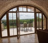 Drzwi balkonowe dwuskrzydłowe