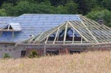 Montaż folii dachowej