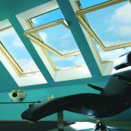 Okna dachowe obrotowe
