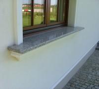 Parapet zewnętrzny granitowy