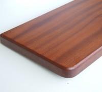 Parapet drewniany