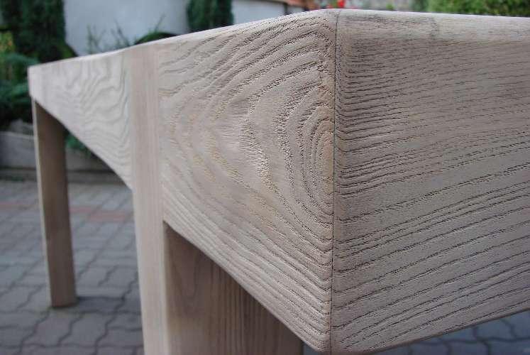 piaskowane drewno