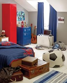 pokój młodego piłkarza
