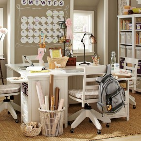 biurko dla dwojga dzieci