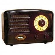 designerskie radio stylizowane na retro