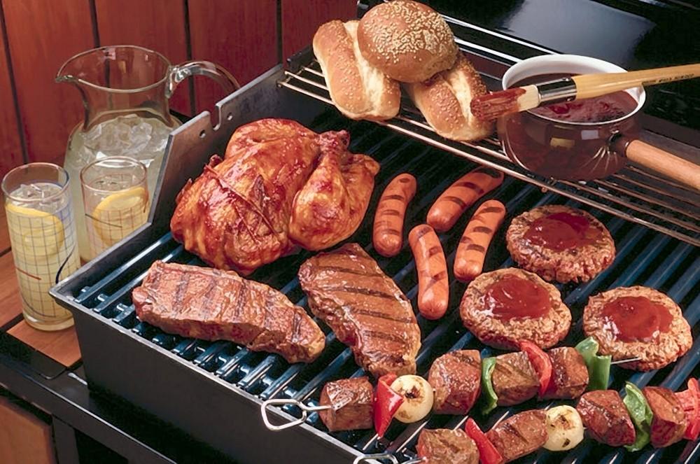 grill przenośny węglowy