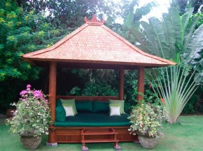 altana ogrodowa w stylu chińskim