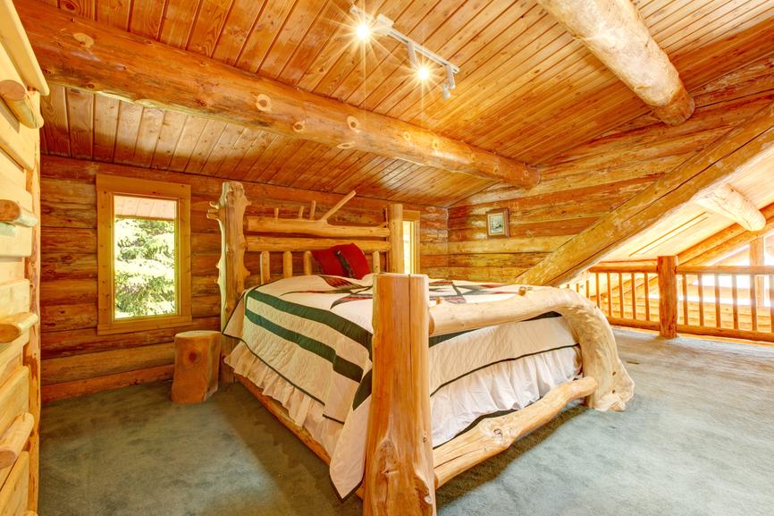 Sypialnia Z Drewna Budujeurzadzampl