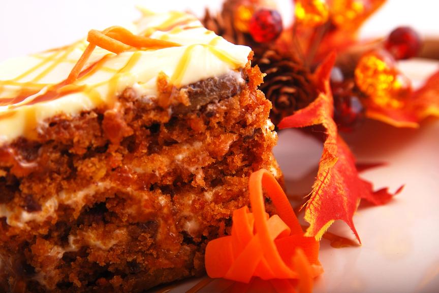 the carrot cake dessert