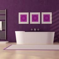 tapeta w nowoczesnej łazience