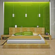 sypialnia w kolorze zielonym